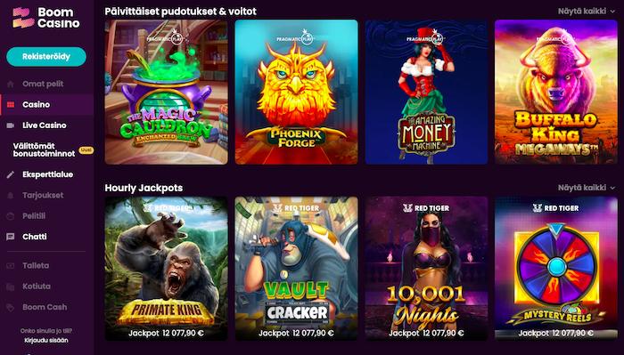 Boom Casinon peliaula