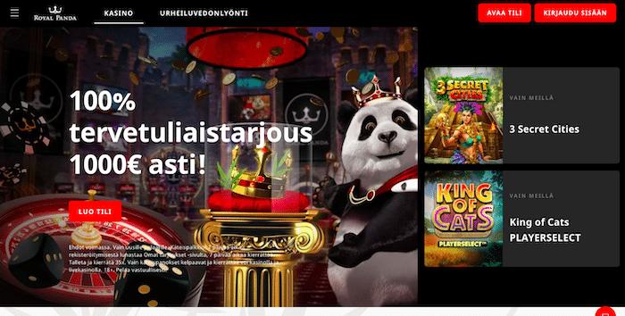 Royal Pandan bonustarjous