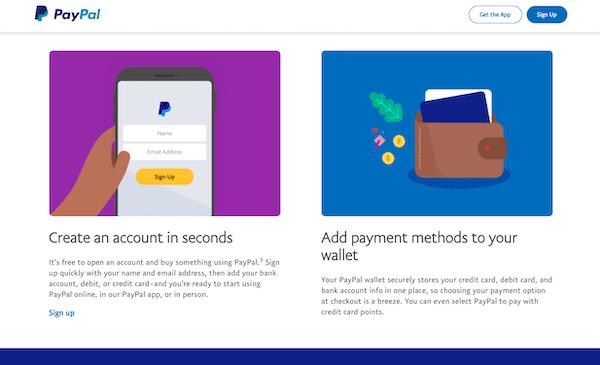 Kuva PayPalin sivulta